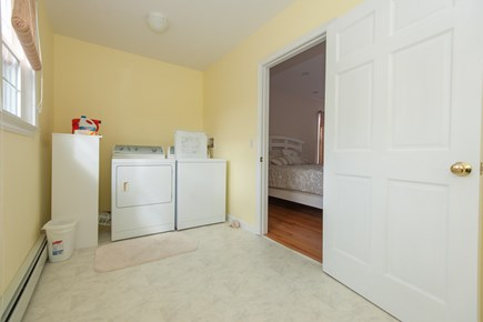 Bourne, Buzzards Bay Cape Cod vacation rental - Laundry upstairs
