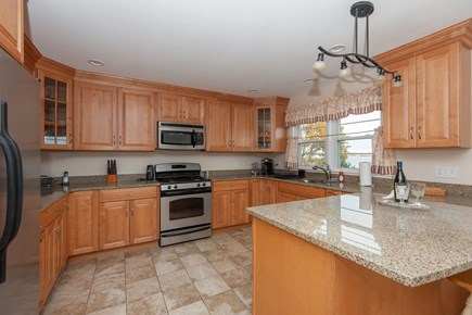 Bourne, Buzzards Bay Cape Cod vacation rental - Kitchen on main level