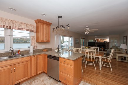 Bourne, Buzzards Bay Cape Cod vacation rental - Kitchen view 3