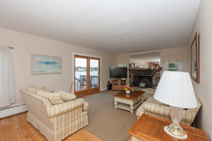 Bourne, Buzzards Bay Cape Cod vacation rental - Living room main floor view 2