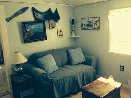 North Truro Cape Cod vacation rental - Quaint cozy living room