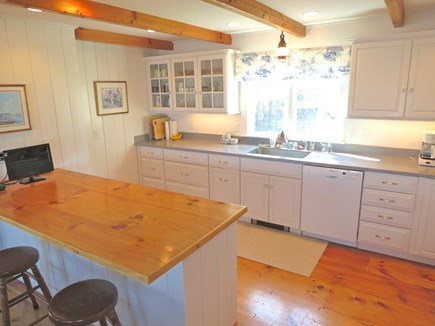 Brewster Cape Cod vacation rental - Recently renovated kitchen is well equipped