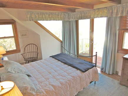 Brewster Cape Cod vacation rental - Another queen bedroom, upper level. Panoramic water views