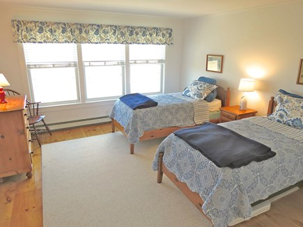 Brewster Cape Cod vacation rental - Twin bedroom upper level.Single twin in BR #5 (not shown)