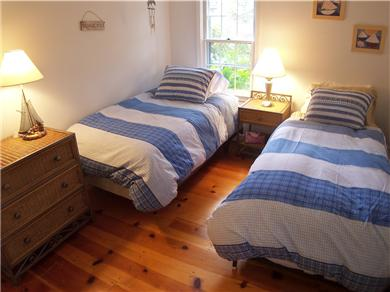 Brewster Cape Cod vacation rental - Two bedrooms have twins, one bed also has a pullout trundle under