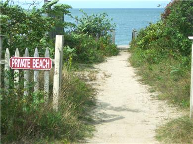 Brewster Cape Cod vacation rental - The beach beckons!