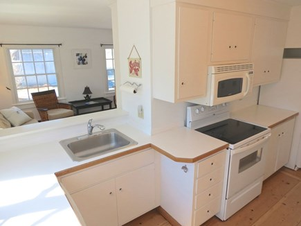Brewster Cape Cod vacation rental - Well-equipped, cheery kitchen.