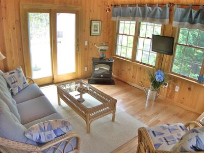 Eastham Cape Cod vacation rental - Simple, Modern Decor with Hardwood Floors Throughout