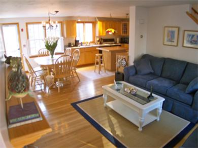 Eastham Cape Cod vacation rental - Casual Flow Between Living, Dining and Kitchen areas