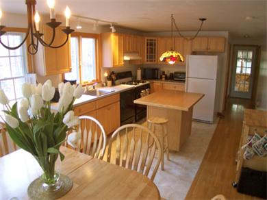 Eastham Cape Cod vacation rental - Modern Equipped Kitchen with Plenty of Operating Space