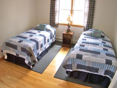 Eastham Cape Cod vacation rental - Upstairs Bedroom with 2 Twins