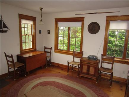 East Dennis Cape Cod vacation rental - Dining area (kitchen to right)