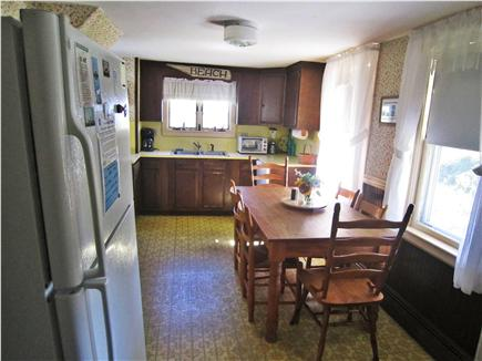 Chatham Cape Cod vacation rental - Eat-in kitchen easily accommodates 6 people