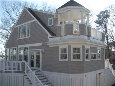 Pocasset, Bourne Pocasset vacation rental - Sideview