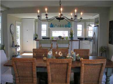 Pocasset, Bourne Pocasset vacation rental - Dining room with table for 8