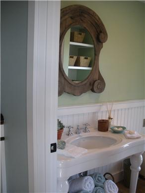 Pocasset, Bourne Pocasset vacation rental - Guest Bath with walk out deck