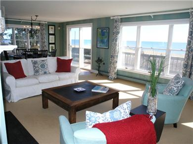 Falmouth Cape Cod vacation rental - Enjoy time in the family room with expansive ocean views