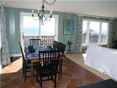 Falmouth Cape Cod vacation rental - Dining with an ocean view