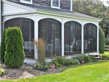Nauset Heights, East Orleans Cape Cod vacation rental - Screened porch ~ another view