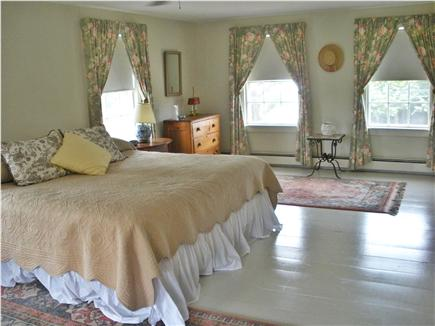 Nauset Heights, East Orleans Cape Cod vacation rental - Upstairs master bedroom w/ceiling fan & king