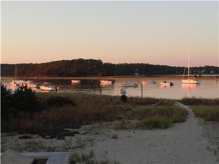 Falmouth,  Megansett Harbor Cape Cod vacation rental - Sunset colors on the harbor