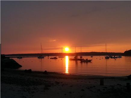 Falmouth,  Megansett Harbor Cape Cod vacation rental - Sunset from the beach