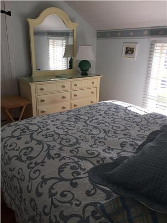 New Seabury, Maushop Village,Mashpee Cape Cod vacation rental - 1st floor bed room w/Queen bed, sky light, lg closet,fresh paint