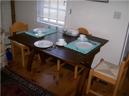 New Seabury, Maushop Village,Mashpee Cape Cod vacation rental - Dining table setting