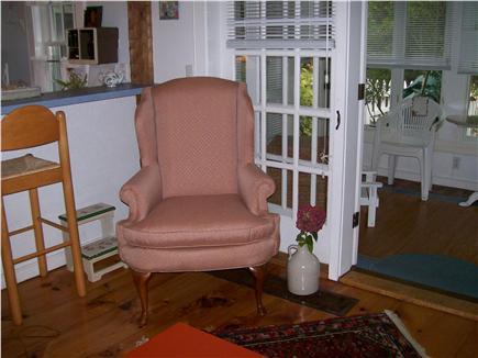 New Seabury, Maushop Village,Mashpee New Seabury vacation rental - Partial view of Kitchen,living room & Sun Porch