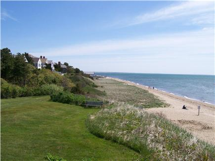 New Seabury, Maushop Village,Mashpee Cape Cod vacation rental - M.V. Top of Bluff w/ private beach below.