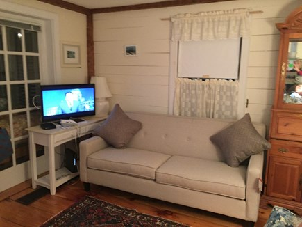 New Seabury, Maushop Village,Mashpee Cape Cod vacation rental - Wide screen TV in the living room