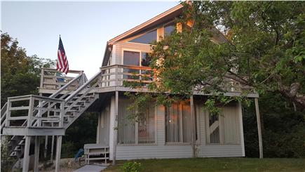 Eastham Cape Cod vacation rental - Contemporary sunny beach house; 2nd floor main living area & deck