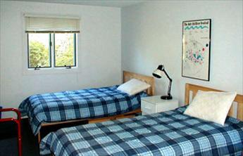 Eastham Cape Cod vacation rental - 2 spacious downstairs BRs w/ 2 twins each, 1 w 33'' flatscreen TV