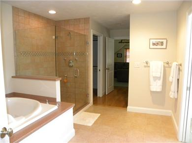 Falmouth Cape Cod vacation rental - Master Bath