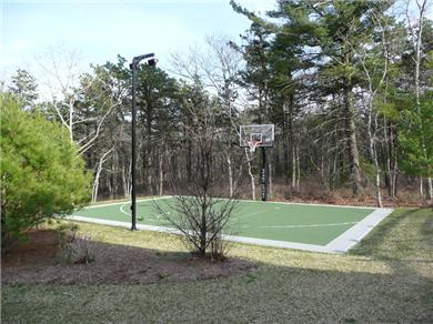 Falmouth Cape Cod vacation rental - Lighted Basketball Court