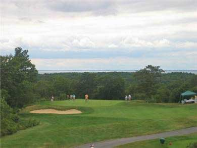 Falmouth Cape Cod vacation rental - golf course
