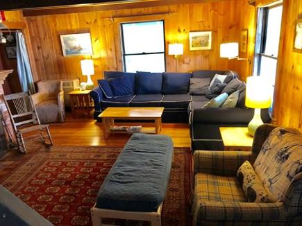 Wellfleet Cape Cod vacation rental - Spacious Living room with ocean view