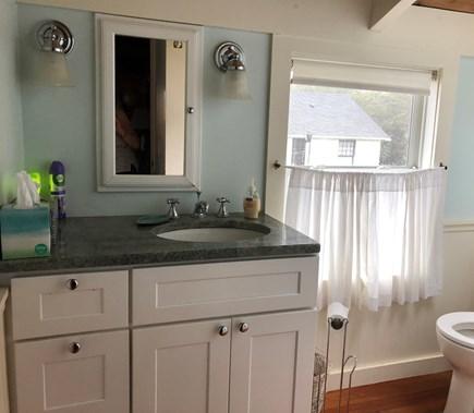 Wellfleet Cape Cod vacation rental - First Floor Full Bath with Bay View