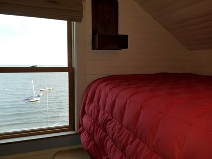 Wellfleet Cape Cod vacation rental - Sleeping nook with best view in Wellfleet