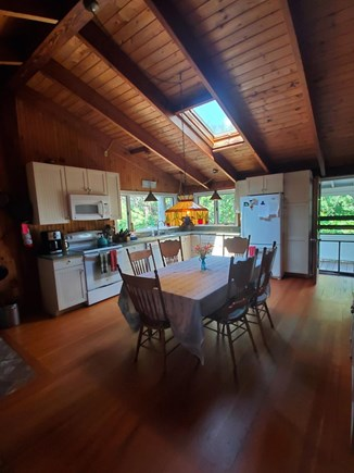 Wellfleet Cape Cod vacation rental - Eat in Kitchen with Granite Counters