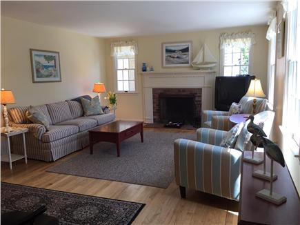 Orleans Cape Cod vacation rental - Cheerful  living room with bright and sunny southeast exposure.
