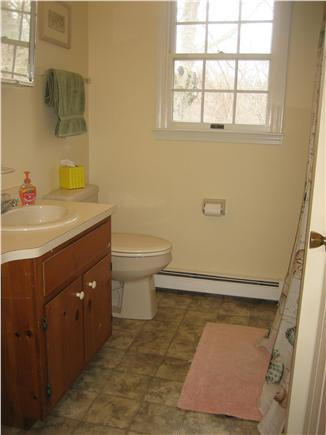 Orleans Cape Cod vacation rental - Second floor bathroom with tub.