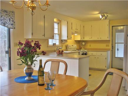 Orleans Cape Cod vacation rental - Dining area with slider to the large private back yard.