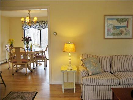 Orleans Cape Cod vacation rental - Living room flows into the dining area and kitchen.