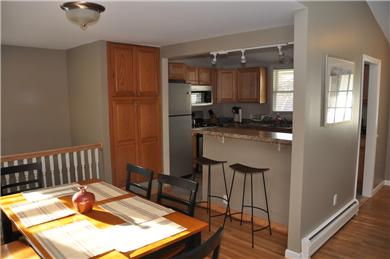Hyannis Cape Cod vacation rental - Dining area and kitchen