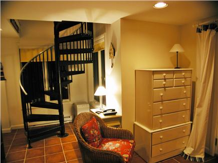 South Wellfleet Cape Cod vacation rental - Lower level seating area.