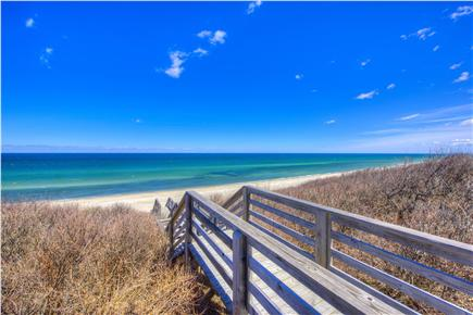 East Sandwich Cape Cod vacation rental - Ocean view from living room/ dining room.