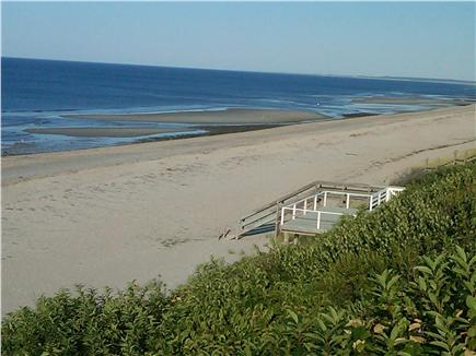 East Sandwich Cape Cod vacation rental - View of your private beach from your deck.