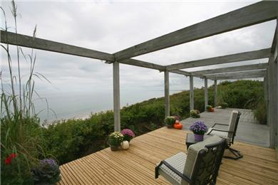 East Sandwich Cape Cod vacation rental - Enjoy panoramic views of sunrises over the ocean.