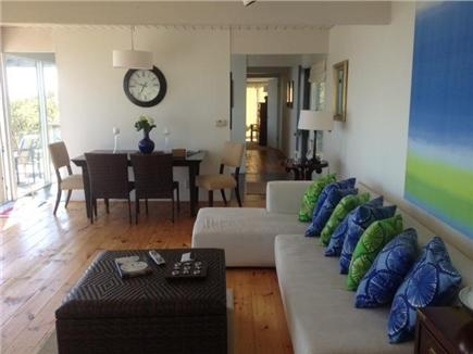 East Sandwich Cape Cod vacation rental - Open floor plan with easy flow from kitchen to dining/livingroom.